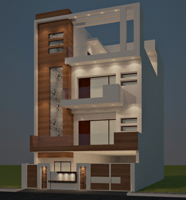 Building house elevation designer in delhi ncr gurgaon for House design com